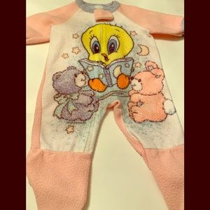 Baby Looney Tunes Outfit size 7-12 months